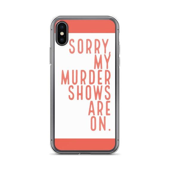True Crime Murder Show Phone Case for Your Favorite Murderino, Joe Kenda, Law Order SVU, Horror Geek 11 S10