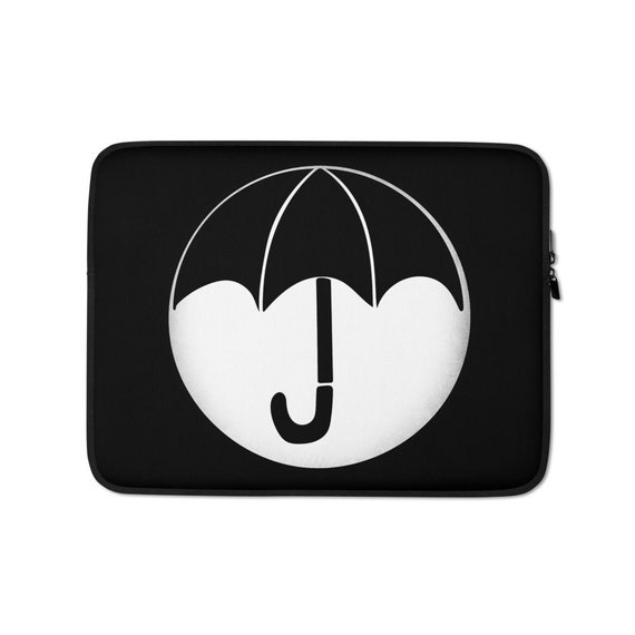 Umbrella Academy Laptop Sleeve, TUA Computer Case, 13 or 15 inches, Cute Fandom Accessory Gift