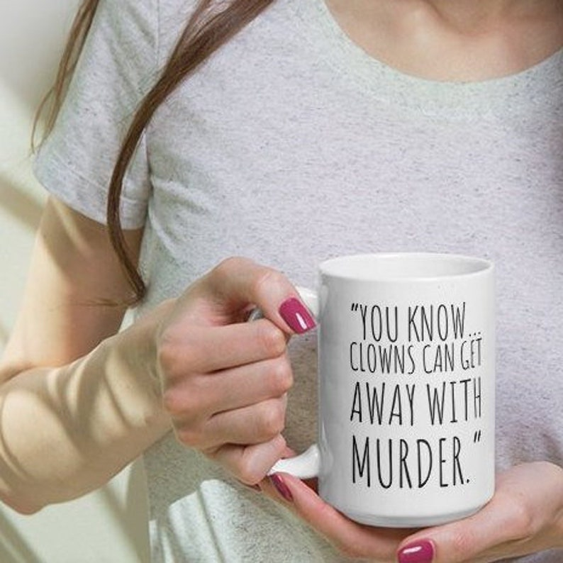 John Wayne Gacy Mug True Crime Serial Killer Coffee Cup image 1