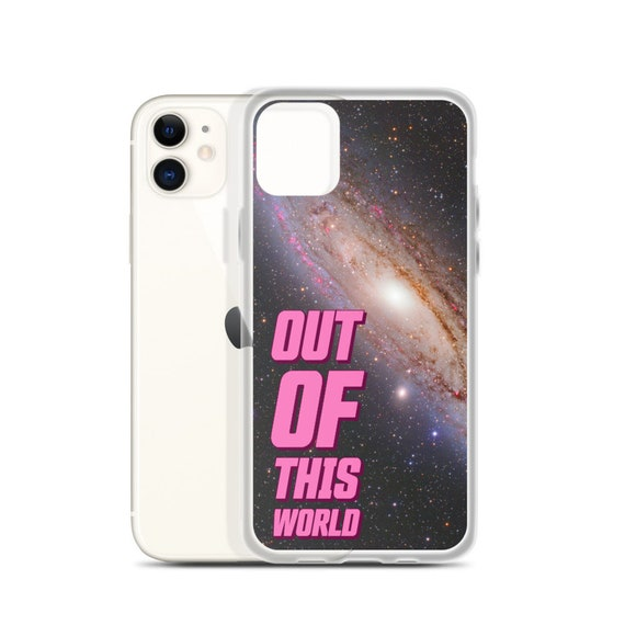 Out of This World Outer Space Phone Case, Galaxy Design for iPhone or Samsung Cell Cover