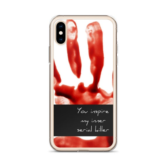 Inner Serial Killer iPhone 11 Case, Pro Max True Crime Gifts, Detective Halloween Horror Mobile Covers