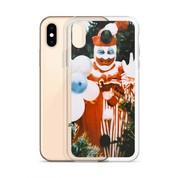 Pogo the Clown iPhone 11 Cover, John Wayne Gacy Phone Case, Serial Killer Crime Gifts