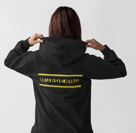 Murderino Hoodie, My Favorite Murder SSDGM Hooded Pullover Sweatshirt with Large Front Pocket