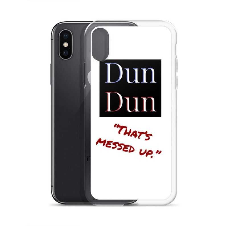 df8c86b647 Law and Order Dun Dun iPhone Case with ICE-T Quote | Etsy