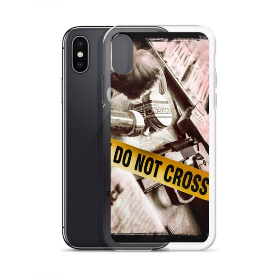 Do Not Cross Phone Case, Crime Scene Tape, Evidence Background, iPhone XS Max, iPhone XR, and more