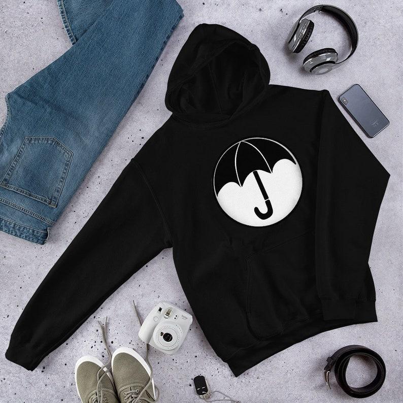 Umbrella Academy Hoodie Cozy Unisex Pullover Sweatshirt for Black