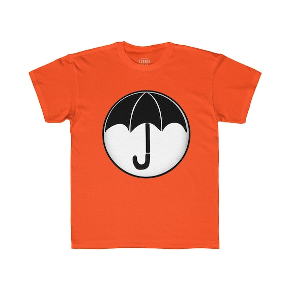The Umbrella Academy Kids T Shirt, Regular Fit Graphic Tee, Cool Colors for TUA Fans