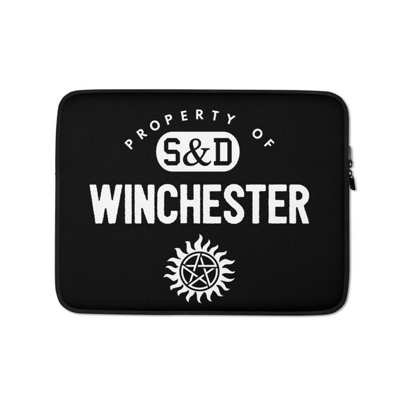 Supernatural Laptop Sleeve, Sam Dean Winchester Boys, Computer Case for 13 or 15 inch