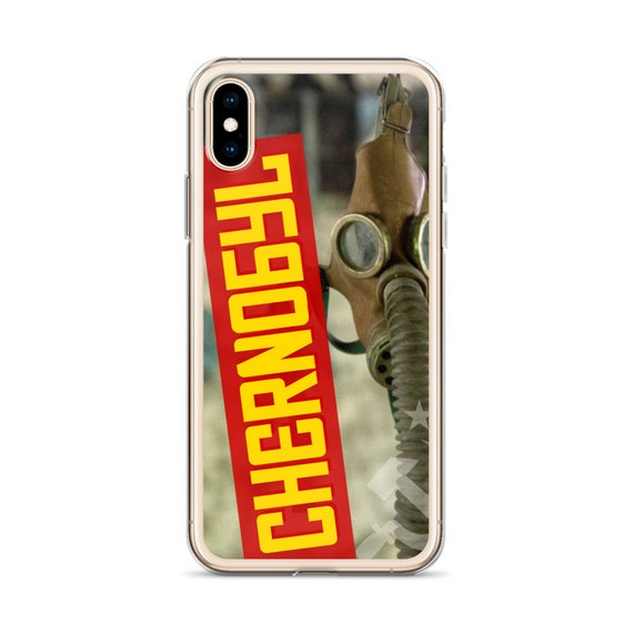 Chernobyl Phone Case, Soviet Nuclear Disaster, USSR Historical Horror iPhone or Samsung Cover