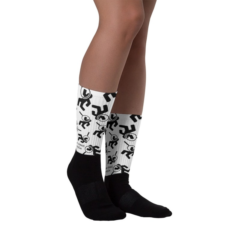 Novelty Gift for Detectives Forensic I see dead people Socks Pathologists Mortuary staff Medical Examiners Coroners