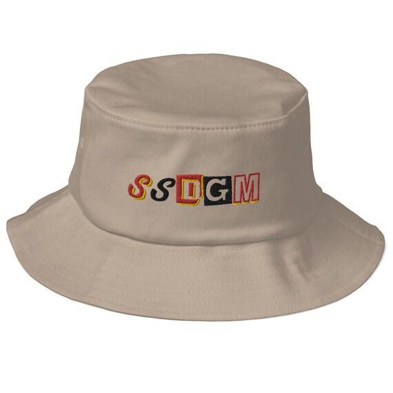 SSDGM Old School Bucket Hat, My Favorite Murder, Embroidered Cap, Vintage Style