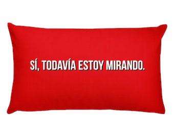 Netflix Pillow en Español, Almohada Cojín de Sofá Throw, Decorativa Cuadrado para Hogar Dormitario