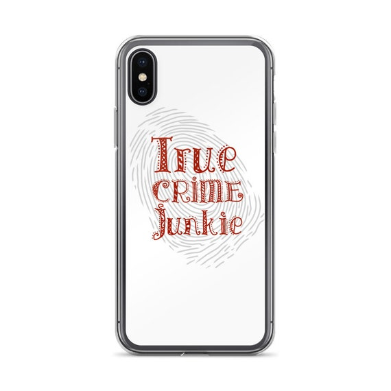True Crime Phone Case, Cool Design on Durable iPhone or Samsung Galaxy Cover, Detective Aesthetic