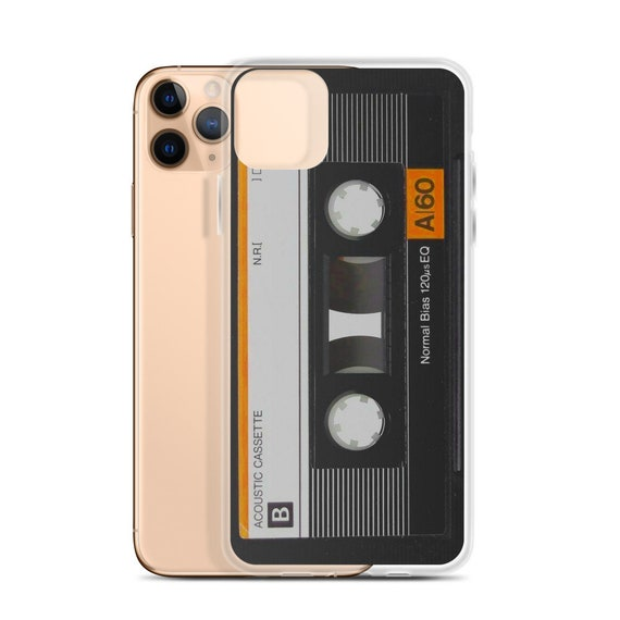 Personalized Mix Tape Phone Case, Retro Audio Cassette Cell Cover, Vintage Aesthetic, Customizable Nostalgic Fun