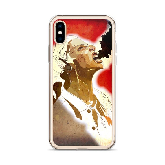 Diablero iPhone Case, Nancy Demon Vessel, Horror TV Show, Unique Cell Phone Case, Original Artwork from Frenchtoastygood