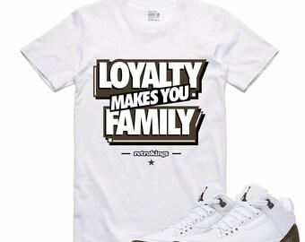 3bd5abbd92500d Air Jordan 3 III Mocha Sneaker T Shirt Retro Sneakerhead Tee