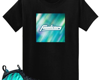 06f8dec3801 Northern Lights Air Foamposite One Foamlicious Box Logo T Shirt