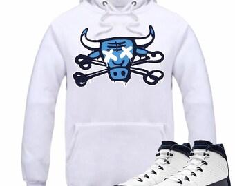 8c471d26be5f Air Jordan 9 IX Midnight Navy Hoodie Hooded Sweatshirt Retro OG Carolina  Sneakerhead Sneaker Tee Shirt UNC