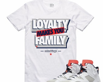 5156a67081c486 Air Jordan 6 VI Tinker Infrared Air Trainer SC II Sneaker T Shirt  Sneakerhead Tee