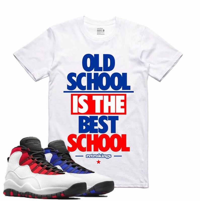 3d9dddf916d5a4 Air Jordan 10 X Westbrook Sneaker T Shirt White University Red