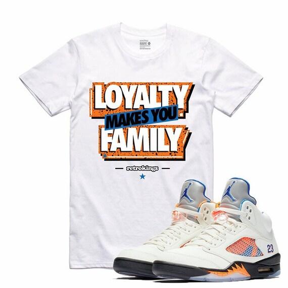 0b55591fdfcc Air Jordan 5 V International Flight Sneaker T Shirt Barcelona