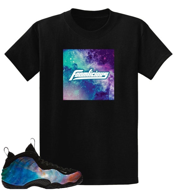 timeless design 5b517 b38b9 Big Bang Galaxy 2.0 Air Foamposite One Foamlicious Box Logo T Shirt