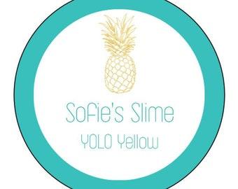 Sofie's Slime - YOLO Yellow