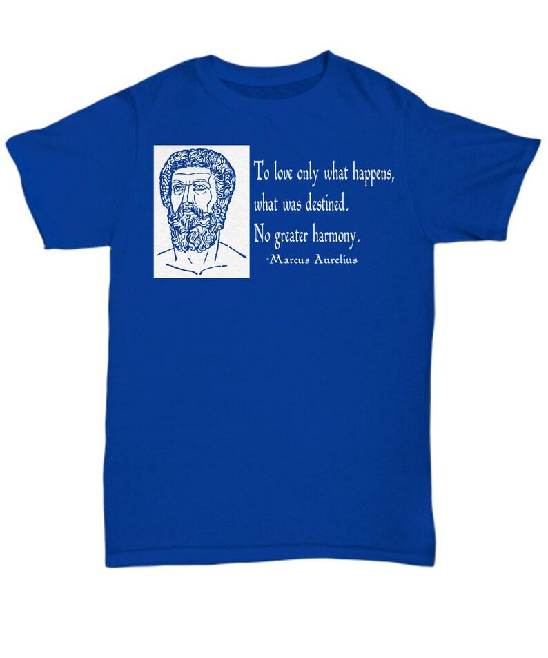 Stoic Shirt / Marcus Aurelius Quote / stoic shirt stoicism ...