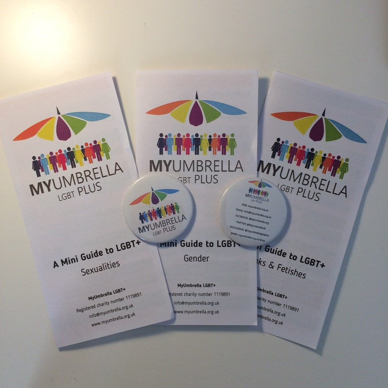 The Mini MyUmbrella Guides to LGBT Sexuality Gender Kinks image 0