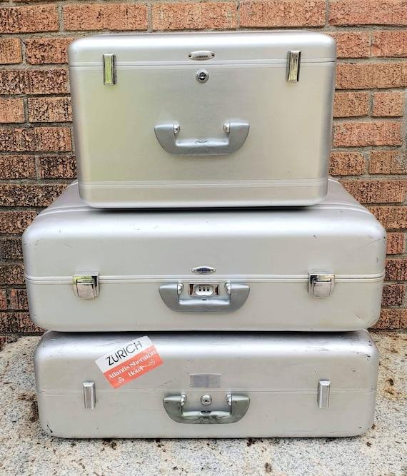 Halliburton Aluminum Luggage 3 piece Set