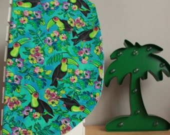 Hair towel for natural or colored hair   Toucan   Coco Caribou