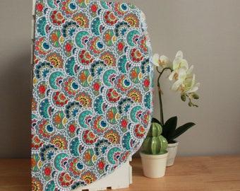 Hair towel for natural or colored hair   Mandala   Coco Caribou