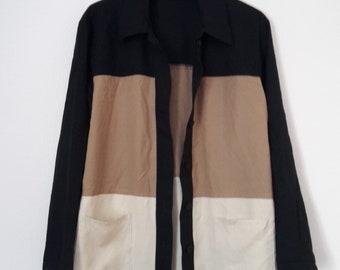 Colour Blocking Shirt, M, 40