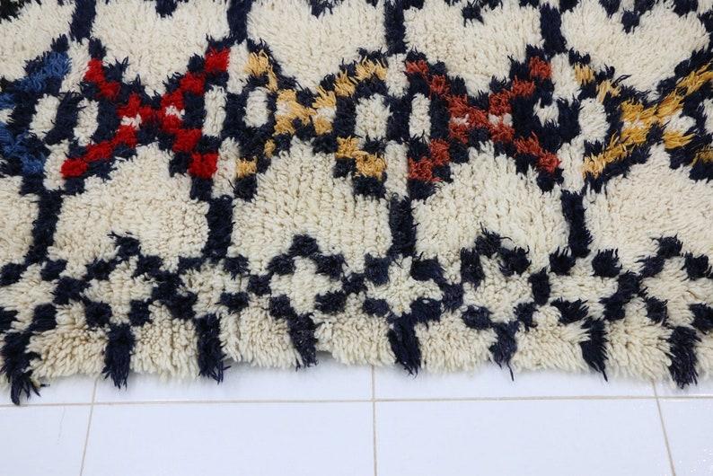 Art Azilal Berber Bohemian Rug 846