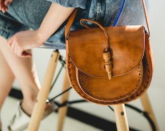 Leather bag, Leather purse handmade, Brown leather crossbody bag, Leather purses and bags, Leather purse, Leather shoulder bag women