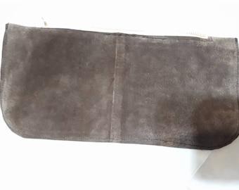 Brown Suede Wallet