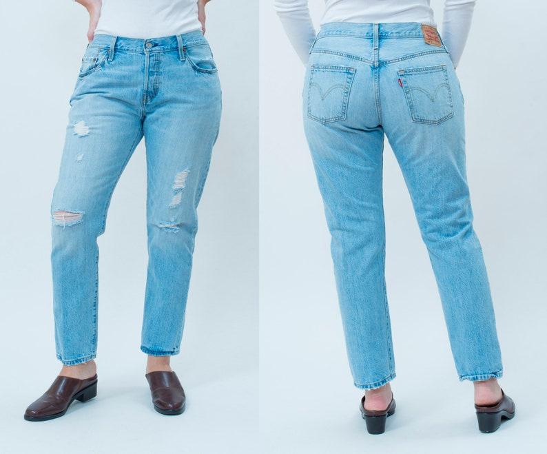 0f0885591bd Levis 501 jeans 32 x 28 90s levi strauss distressed denim | Etsy