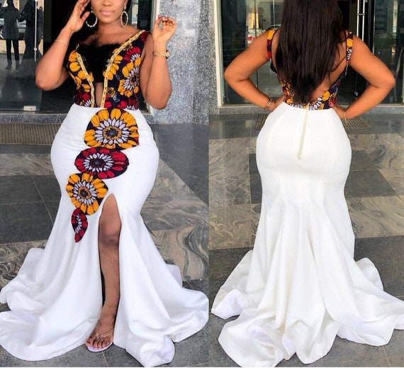 Top 50 African Wedding Dresses Design 2020,Maxi Dress For Wedding Guest With Sleeves