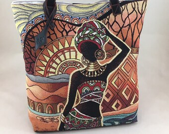 """""""African necklace"""" Tote"""