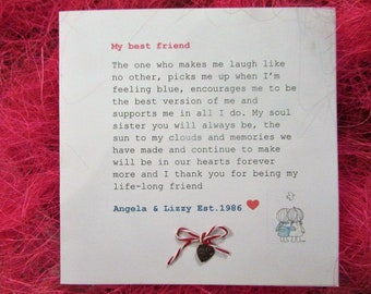 Custom Best Friend Birthday Card Definition Of 30th 40th My Sister