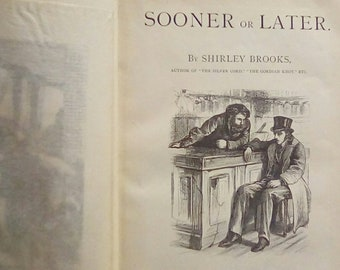 Vintage Rare Book, Charles William Shirley Brook, 1868, Illustrations by G. Du Maurier Grandfather of Daphne Du Maurier First U.S. Edition,