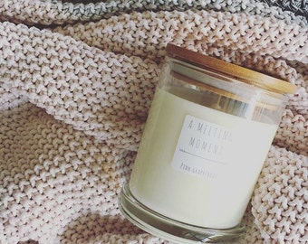 Bamboo Lid Soy Candle
