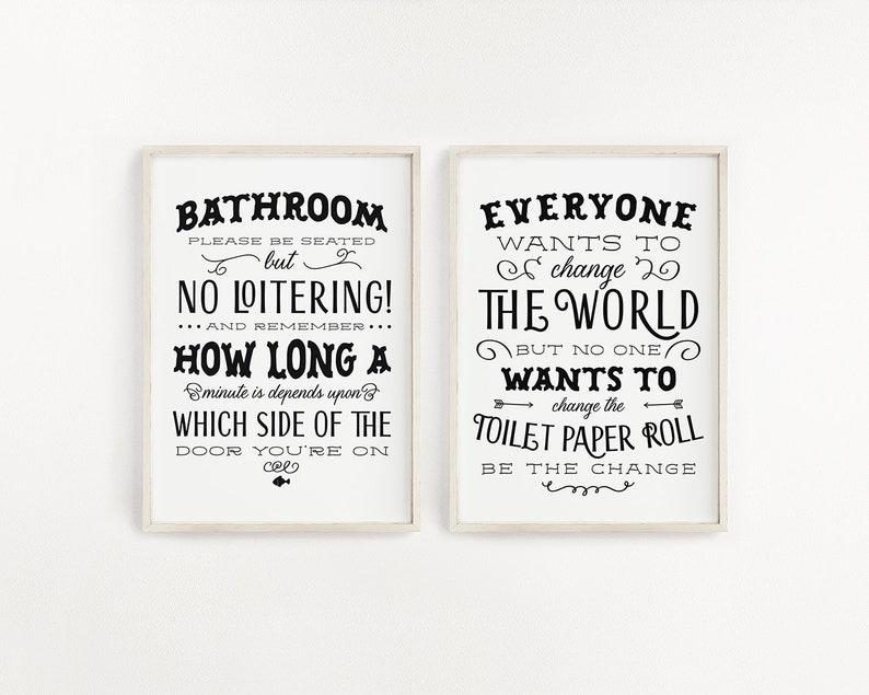 0faeb467980 House Quote Printable Art Set Household Sign Set Printable image ...