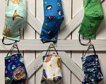 Next Day Free Shipping! 4 Layer Multi Size Washable Reusable 100% Cotton Made in USA