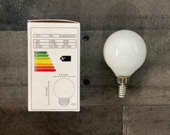 LED 4W E12 Dimmable Candelabra Bulb