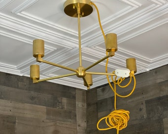 Add a Plug-In to Any Wall Sconce or Chandelier