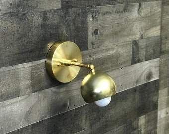 Volonte Modern Single Bulb Wall Sconce Mid Century Industrial Reading Lamp Vanity Light