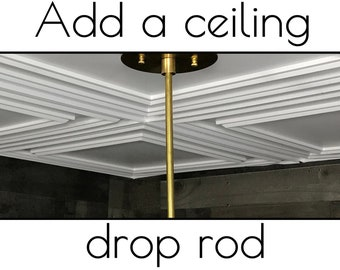 Extra Ceiling Drop Rods