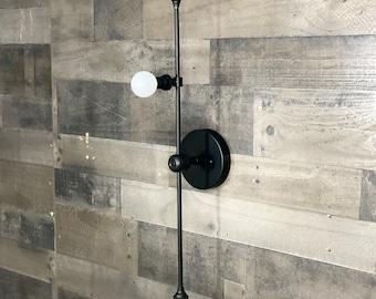 Nova Modern 3 Bulb Candelabra Wall Sconce Mid Century Bathroom Hallway Vanity Light