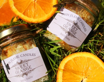 Sweet Orange Bath Salts
